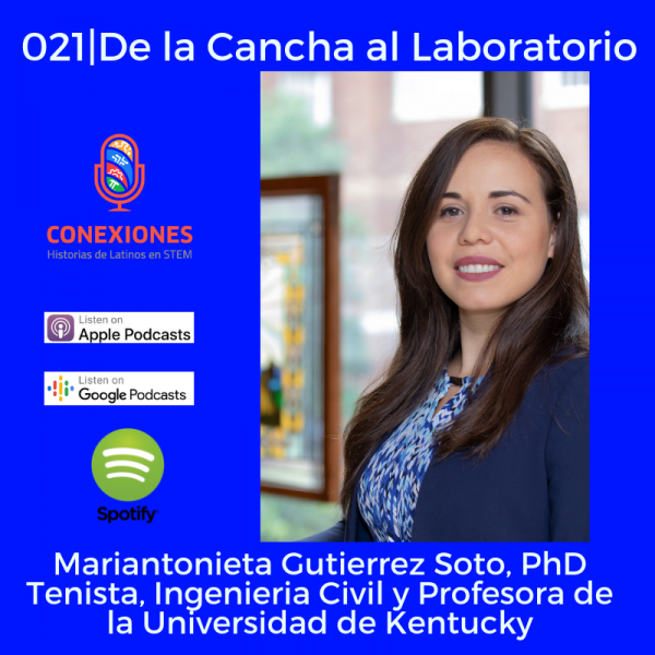 Ingeniería Civil y Biomímica: Mariantonieta Gutierrez Soto, PhD:  Profesora de Ingenieria Civil @ Universidad de Kentucky | #21