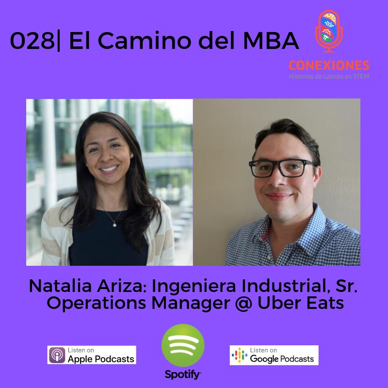 028| El Camino del MBA: Natalia Ariza, Sr. Operations Manager @ Uber Eats, Yale MBA'18
