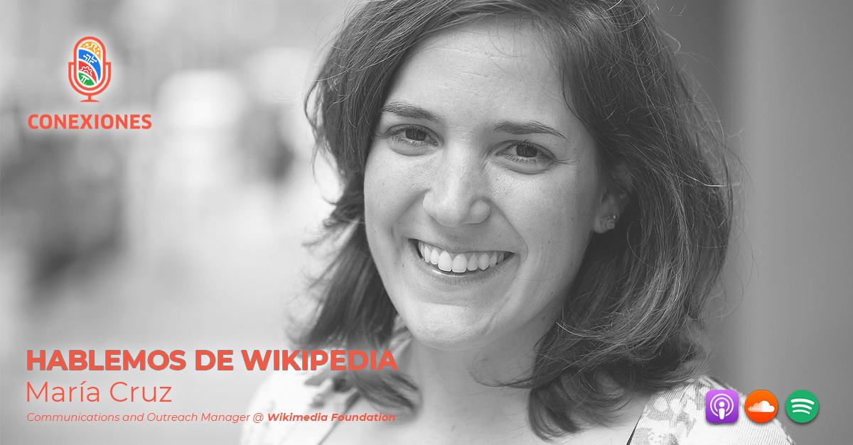 Hablemos de Wikipoedia Maria Cruz FB