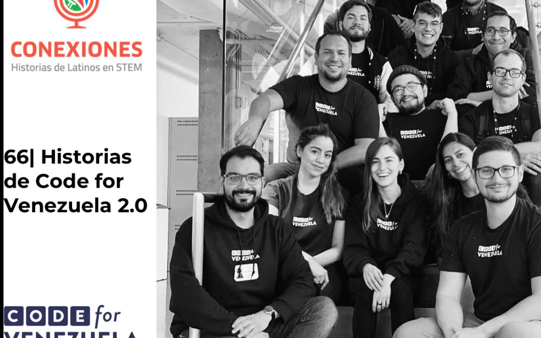 66| Civic Hacking: Historias de Code for Venezuela con Jose Monte de Oca, Fabiola Rosato y Luis Noguera